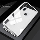 For Huawei P20 & Mate 20  Magnetic Metal Case Cover with Back Tempered Glass