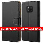 Case For Huawei Mate 20 Pro Lite Genuine Real Leather Wallet Protective Cover