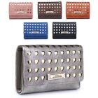 Ladies Laser Cut Heart Purse Cute Girls Metallic Coin Handbag Boxed M04M-360