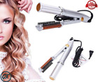 Titanium 2-Way Rotating Curling Iron/ Dual-Use Straight And Curling