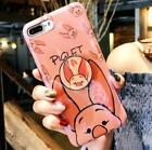 Cartoon Winnie Piglet Airbag Soft Case Cover for Samsung Galaxy S8 S8+ Note 8 9