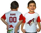 Arizona Coyotes Kids Tee Shirt NHL Personalized New Hockey Youth Unisex Jersey $11.95 USD on eBay