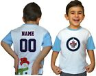 Winnipeg Jets Kids Tee Shirt NHL Personalized Hockey Youth Jersey Unisex Gift $11.95 USD on eBay