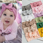 Внешний вид - Girls Baby Toddler Turban Solid Headband Hair Band Bow Accessories Headwear