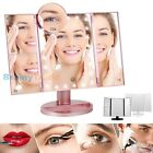 Vanity Makeup Mirror with lights 2X/3X/10X Magnification 22 LED illuminated