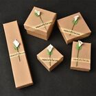 Jewellery Gift Box Ring Necklace Bracelet Earring Watch Small Present Newest