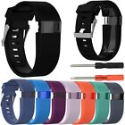Внешний вид - Replacement Silicone Wrist Strap Bracelet For Fitbit Charge HR Activity Tracker