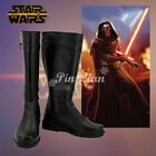 Star Wars The Force Awakens Kylo Ren Ben Solo Boots Shoes Cosplay Costume $54.9 USD on eBay