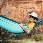 Double Hammock - LIFETIME Warranty. For Camping, Hiking, Travel, Backyard.