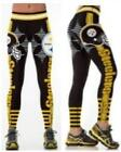 NFL Football Pittsburgh Steelers Fans Game Party Sports Pants Fitness Leggings $12.99 USD on eBay
