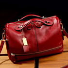 Women Leather Handbag Shoulder Purse Pilliow Shape Satchel Crossbody Tote Bag US