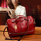 Kyпить Women Leather Handbag Shoulder Purse Pilliow Shape Satchel Crossbody Tote Bag US на еВаy.соm