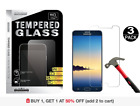 3-Pack Tempered Glass Screen Protector for Samsung Galaxy Note 4 Note 5 S5 S6 S7