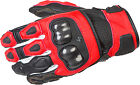 Scorpion SGS MKII Red Leather Gloves