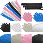 50pc 9' 12' 16' Nylon Zipper Tailor Close End Sewer Craft Multicolor DIY Sewing