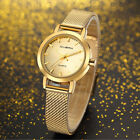 Women Dress Watches Ladies Quartz Watch Stainless Steel Mesh Band Casual Bracele image