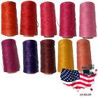 New 284yards Red Serie Sewing Leather Waxed Thread Waxing Cord For Leather Craft