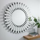 STARBURST Small Large Wall Round Bathroom Hallway Bedroom Mirror 60/80/120 cm