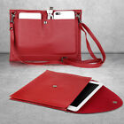 For iPad 9.7 2018 6th Gen HD 8 2018 Universal Soft Leather Handbag Wallet Case