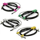 Speed Skipping Jump Rope Skipping Adjustable Steel Wire Fitness Exercise Gym image