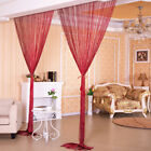 US Glitter String Door Curtain Beads Room Dividers  Beaded Fringe Window Panel  <br/> 2300+Sold / US Free Shipping / 16+ Colors