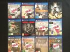 PS4 GAMES - LIKE NEW