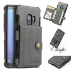 For Samsung Galaxy S9/ S8 Plus Leather Case w/ Card Holder Wallet Cover Note 8