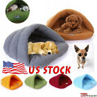 Pet Cat Dog House Kennel Puppy Cave Sleeping Bed Super Soft Mat Pad Warm Nest