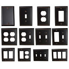 GlideRite Oil Rubbed Bronze Light Switch Cover  Duplex Outlet Wall Plates