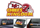 Kansas City Chiefs Kingdom NFL Football Vinyl Decal $5.0 USD on eBay