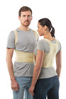 Posture Corrector Back Support Belt by aHeal - Medical Orthopedic Under Clothes