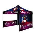 10'X10' Custom Pop-Up Canopy Outdoor Commercial Tent Instant Gazebo Canopies