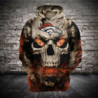NFL Football Hoodie 3D Hooded Denver Broncos Sweatshirt Jacket gift for fan on eBay