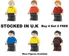 Star Trek Minifigure Spock Fits Lego Captain James Kirk Mini Figure Sulu McCoy on eBay