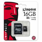 Kingston 16/32/64/128GB MicroSD Micro SD Class 10 Karte Card SPEICHERKARTE JAN