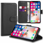 Case for iPhone 6 7 8 5s Se Plus XS Max Flip Wallet Leather Cover Magntic Luxury <br/> BUY 2 GET 1 FREE SCREEN PROTECTOR UK SELLER