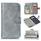 Leather Wallet Flip Case Phone Cover Skin For Samsung Galaxy S910 A8 J4 J6 2018