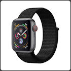 Apple Watch Woven Nylon Sport loop Band Strap. Series 4 3 2 1 - Multiple Colours