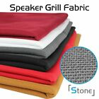Speaker Acoustic Grill Cloth Stereo Fabric Speaker Cover Indoors Outdoors Decor