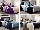 DCP 7 Piece Luxury Quilted Patchwork Comforter bedding Sets Queen,King,Cal King image