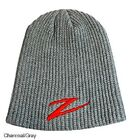 Z Man Red Z Beanie Fishing Hat Fleece Beanie One Size for Skiing and Hunting