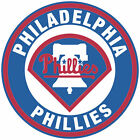 Philadelphia Phillies logo Circle Logo Vinyl Decal  Sticker 5 sizes!! on Ebay