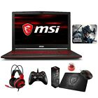 "MSI GL63 8SE 15.6"" 120Hz Full HD Core i7-8750H i5-8300H RTX 2060 Gaming Laptop"