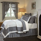 ANNIE BUFFALO BLACK QUILT & ACCESSORIES.CHOOSE SIZE & ACCESSORIES. VHC BRANDS image
