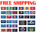 FULL Deluxe NBA 2019 Logo Flag Banner 3x5 ft High Quality - Pick Your Team on eBay