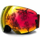 Ski Goggles,Otg Anti-Fog Snowboard Skate Snowmoblie Interchangeable Double Layer