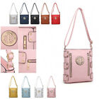 Ladies Zip Messenger Bag Travel Shoulder Bag Girls Cross Body Handbag MA34544