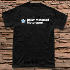 Limited New BMW Motorrad Motorsports Motorcycle Logo T-shirt Size S to 5XL