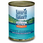 Natural Balance Original Ultra Chicken, Duck & Brown Rice Canned Puppy Food