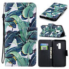 For Samsung S9 S8 Plus Note 9 A8 2018 Cute Leather Wallet Flip Stand Cover Case